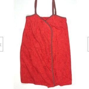 Victorias Secret Large Bath Wrap Robe Velco Dress